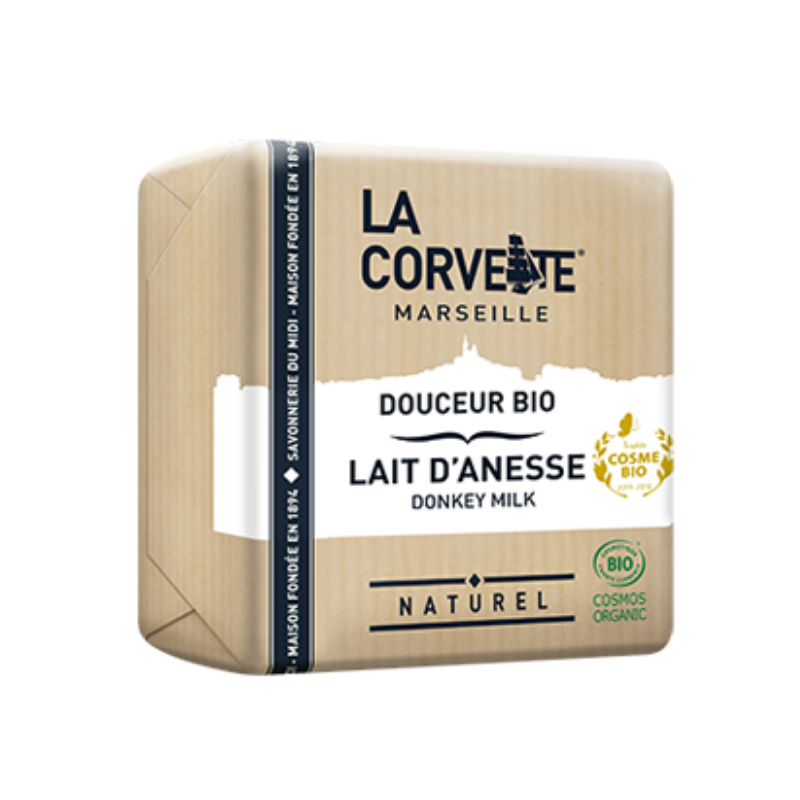 La Corvette Organic Soap with Donkey Milk 100g